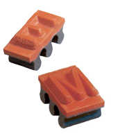 Pack Mark Rubber Ribbed Type