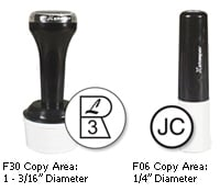 F30 inspection stamp and F06 inspection stamp