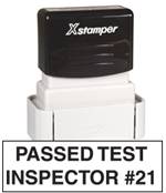 inspection stamp