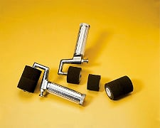 fountain rollers for industrial stencils
