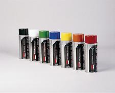 industrial stencil sprays ink