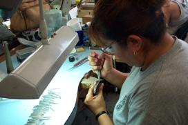 jewelry stamping marking metal