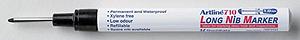 artline long nib industrial marker