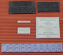 rubber ribbed type