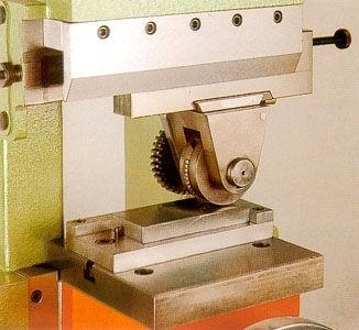 roll marking impact press rod 21
