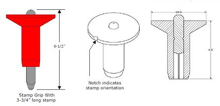 safety first hand stamp grip diagram