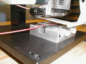 Wire marking printer
