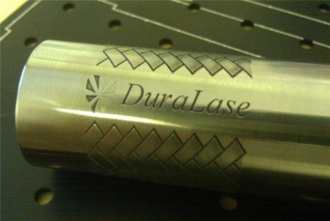Deep engrave steel and other metals using fiber laser marking systems.