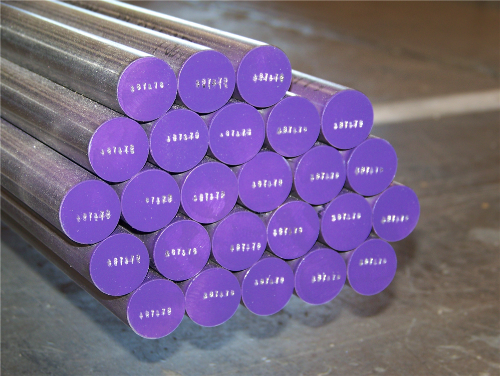 Use Durable marking solutions to mark steel bars for permanent identification.
