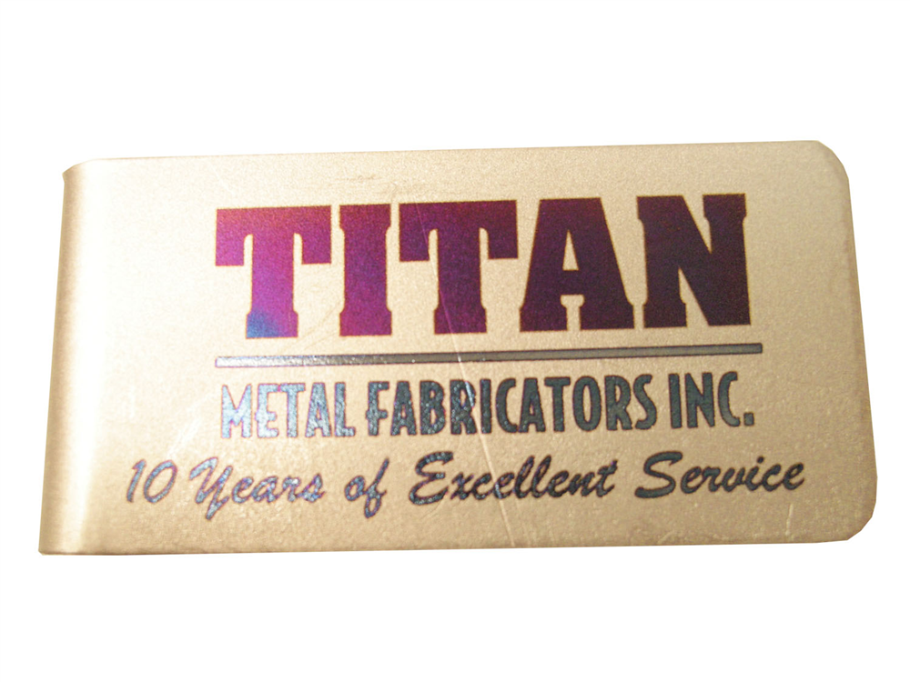 Durable fiber laser marking systems can be used to laser mark titanium.