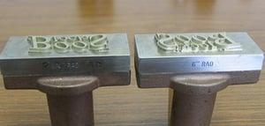 custom branding iron dies