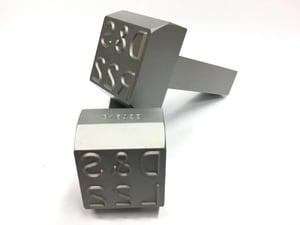custom shank steel stamps pneumatic press dies